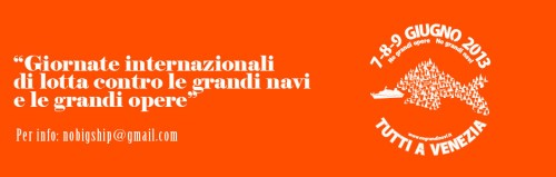Giornate internazionali di lotta contro le grandi navi a Venezia